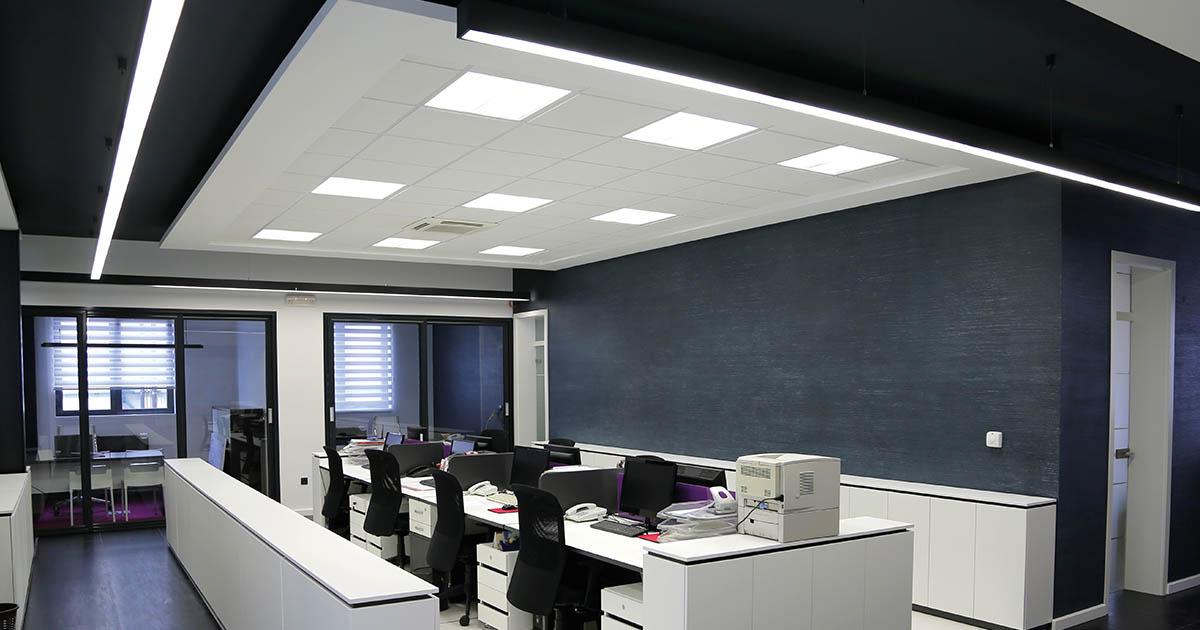LED Bürobeleuchtung LED Büroräume LED Bürogebäude