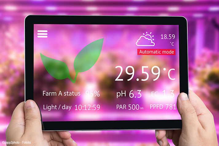 Kennziffern der LED Pflanzenbeleuchtung