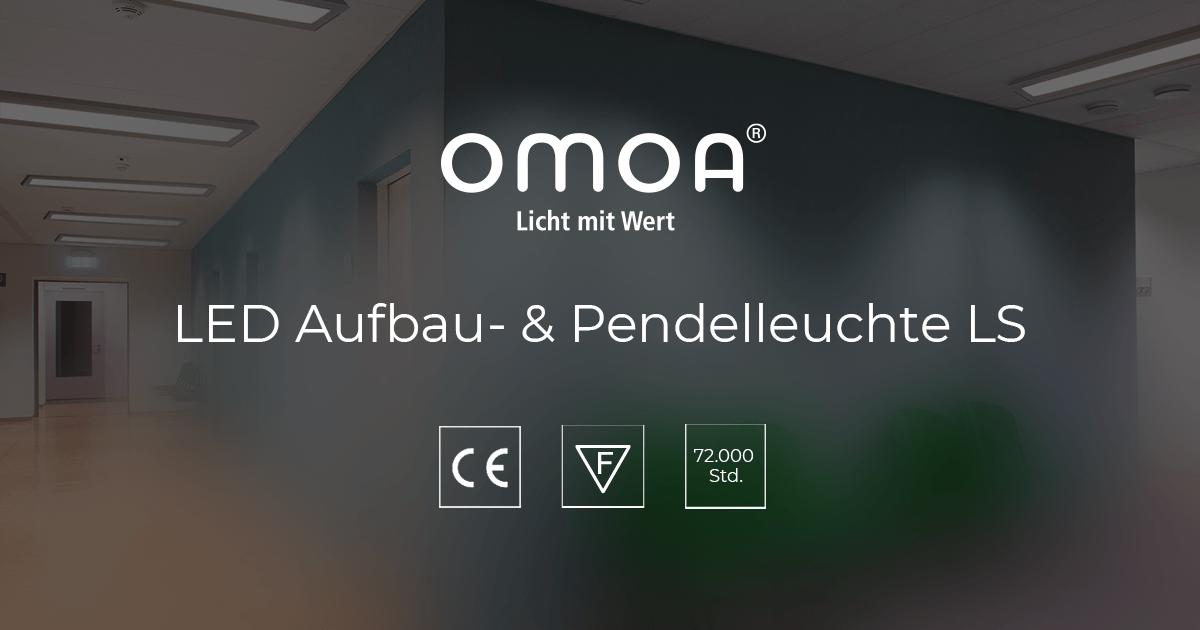 LED Aufbau- & Pendelleuchte LS