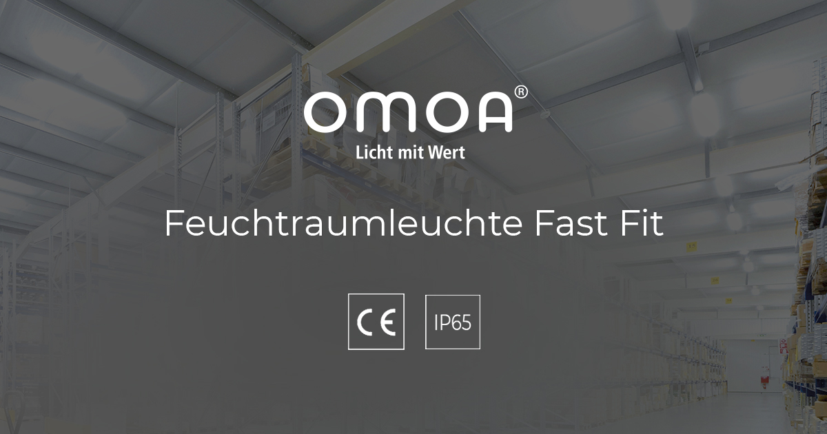 LED Feuchtraumleuchte Fast Fit