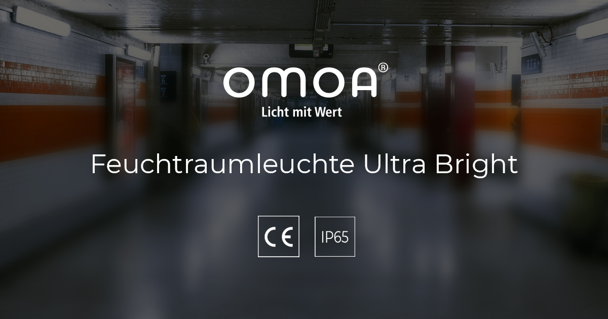 LED Feuchtraumleuchte Ultra Bright