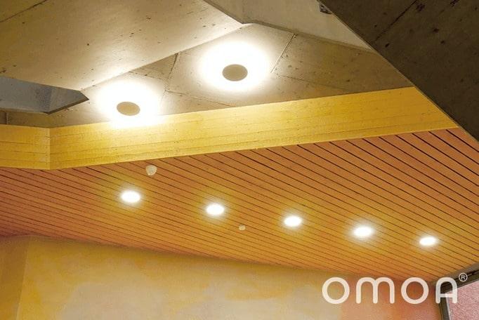 omoa LED Deckenleuchte rundumstrahlend