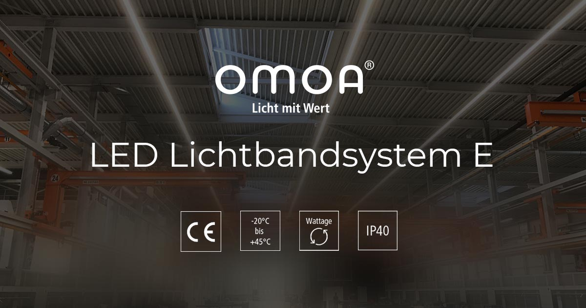 LED Lichtbandsystem E
