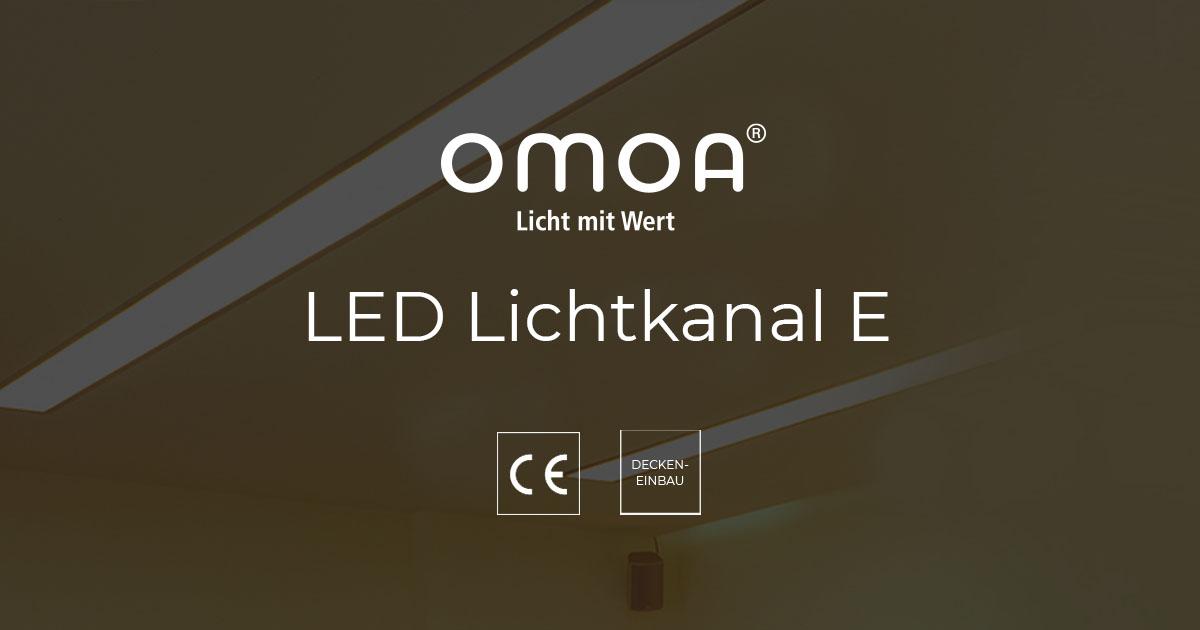 LED Lichtkanal E